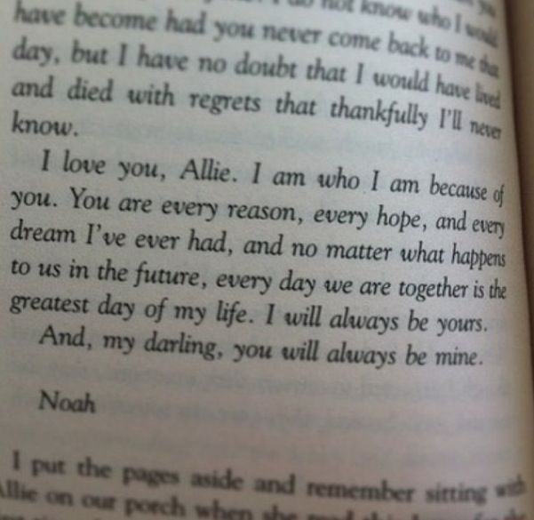 Quotes From The Notebook Book: 42 Best The Notebook ♥ Images On Pinterest
