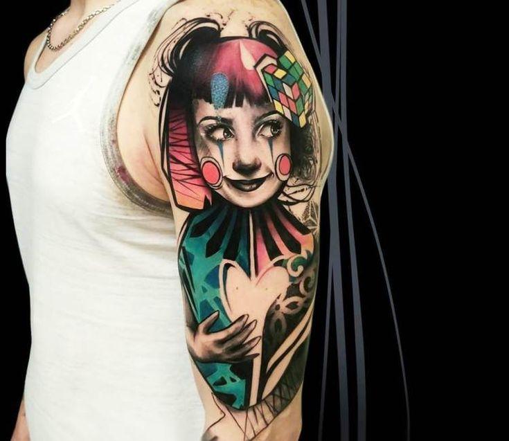 Best 25+ Clown Tattoo Ideas On Pinterest