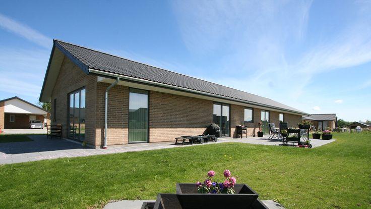 Familien Møllers hus fra Solrød Strand.