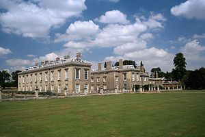 Althorp House in Northamptonshire, England, Princess Diana's childhood home where her father, Earl Spencer and his wife Raine, still lived in 1985. On the day of my visit, Althorp was in a uproar. The Earl was a having press event for his new book, and they weren't prepared for tourists, so I wound up knocking at the back door! I was taken around the house with only two others, into places the public usually didn't see. It was a family home filled with pictures, and I felt like an intruder.