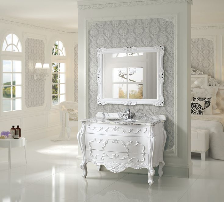 17 best images about antique bathroom vanities on - Antique bathroom sinks and vanities ...