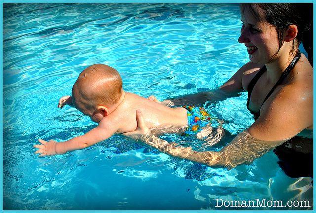 Tips for infant swimming.....