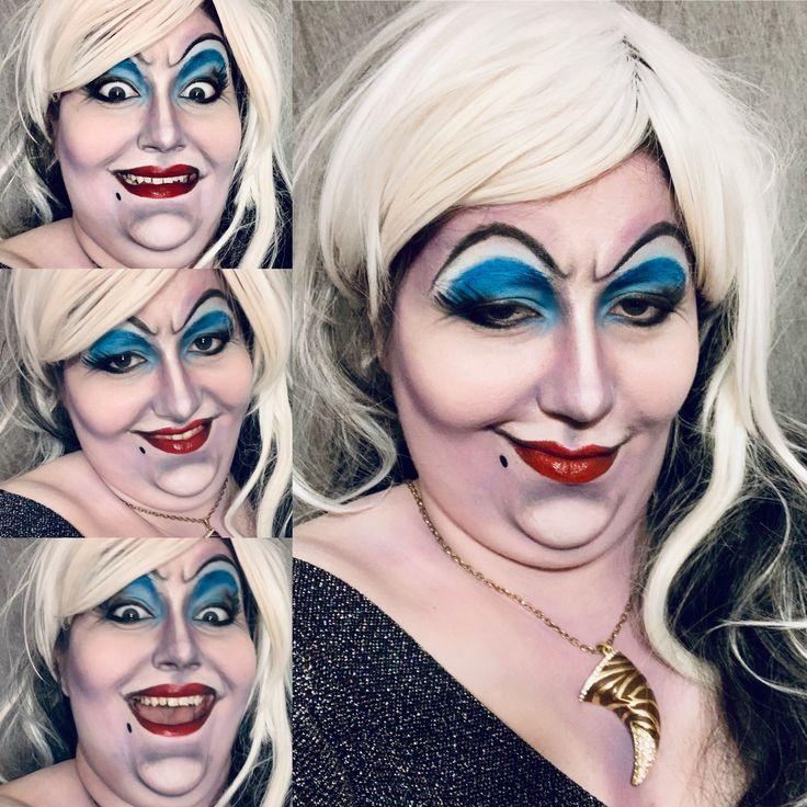 Ursula Makeup, Disney Character, Little Mermaid, Villians