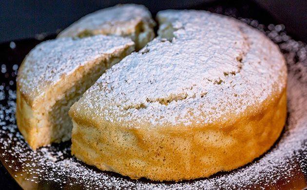 Torta all'acqua - http://gustosrecetas.com/torta-allacqua/