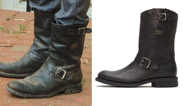 Original Negan boots walking dead cosplay