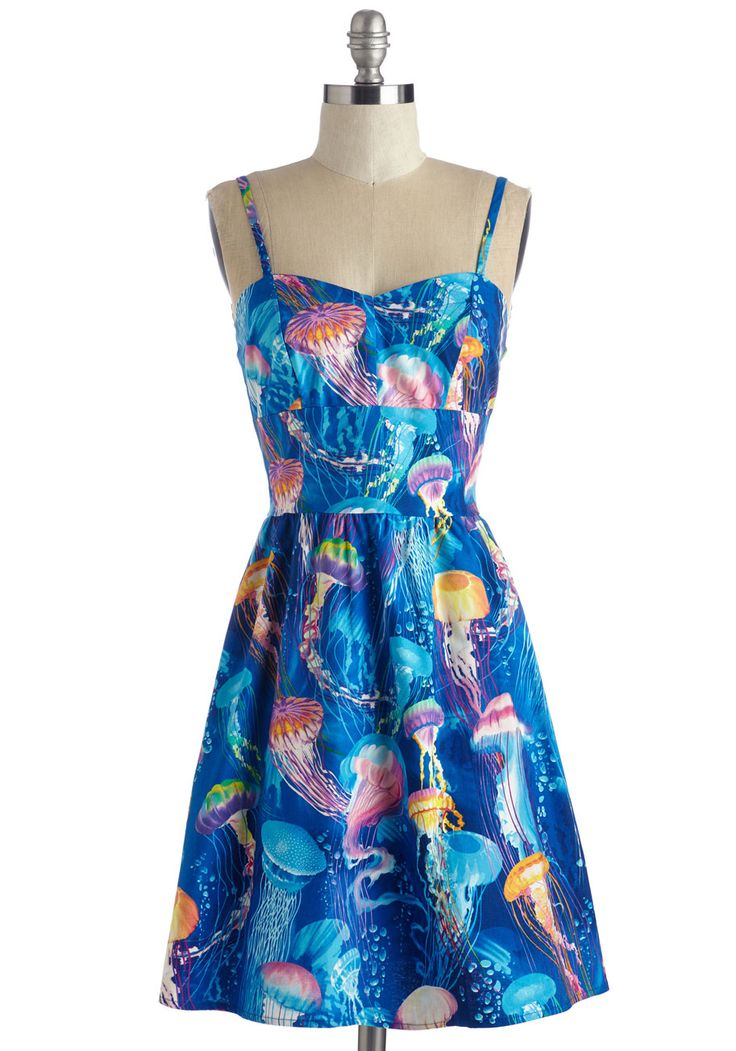 So Jelly Dress. Be the source of style envy each time you sport this cotton frock! #multi #modcloth