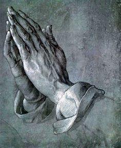 DÜRER Albrecht  Mains en prières (1508) #FredericCl