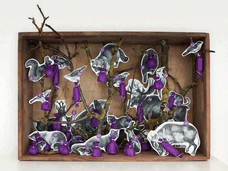 DIY tutorial: Create an Advent Calendar with Forest Animals via DaWanda.com