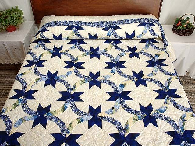 216 Best Double Wedding Ring Quilts Quilting Images On Pinterest