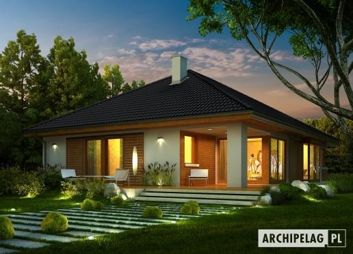 #Projekty domów ARCHIPELAG - Glen II G1