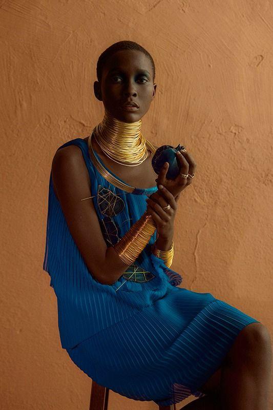 Clam Magazine #28  Muse: Mahany Pery Photography: Adriano Damas #gold #accessories
