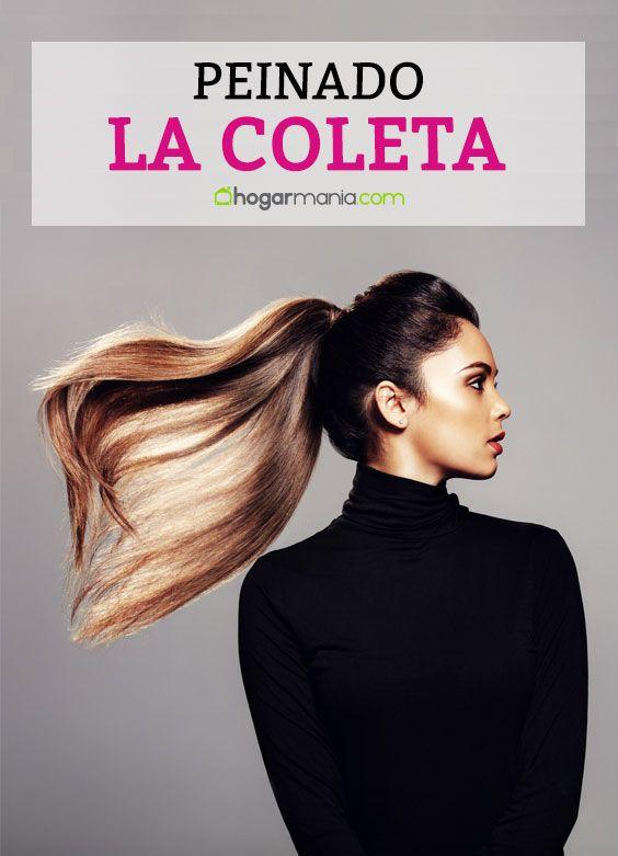 Vamos a hacer una coleta, un peinado muy sencillo para salir a la calle y cambiar de estilo, dejando de lado el pelo liso. #coleta