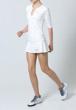 Nike Performance - Topper langermet - blanc/argenté