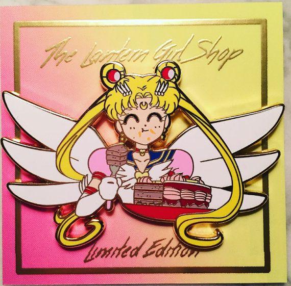 Eternal Sailor Moon gâteau broche par TheLanternGirlShop sur Etsy