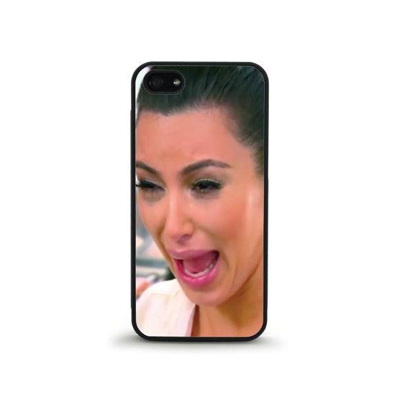 Kim Kardashian Crying Phone Case  iPhone 4/4s by FreshAFstudios