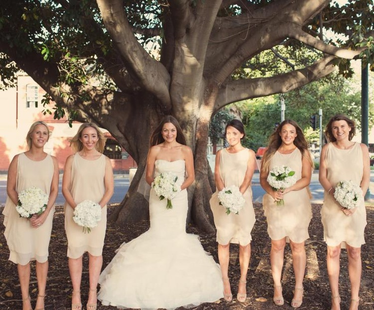 86 best bridesmaids in the nude images on pinterest beautiful nude bridesmaid dresses via louise james classic opulence lane junglespirit Gallery