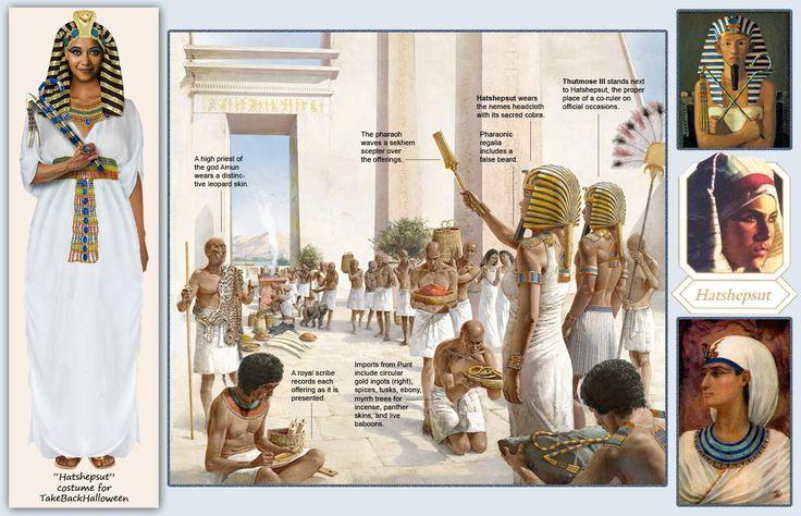 Hatshepsut Take Back Halloween Ancient Egypt For Kids