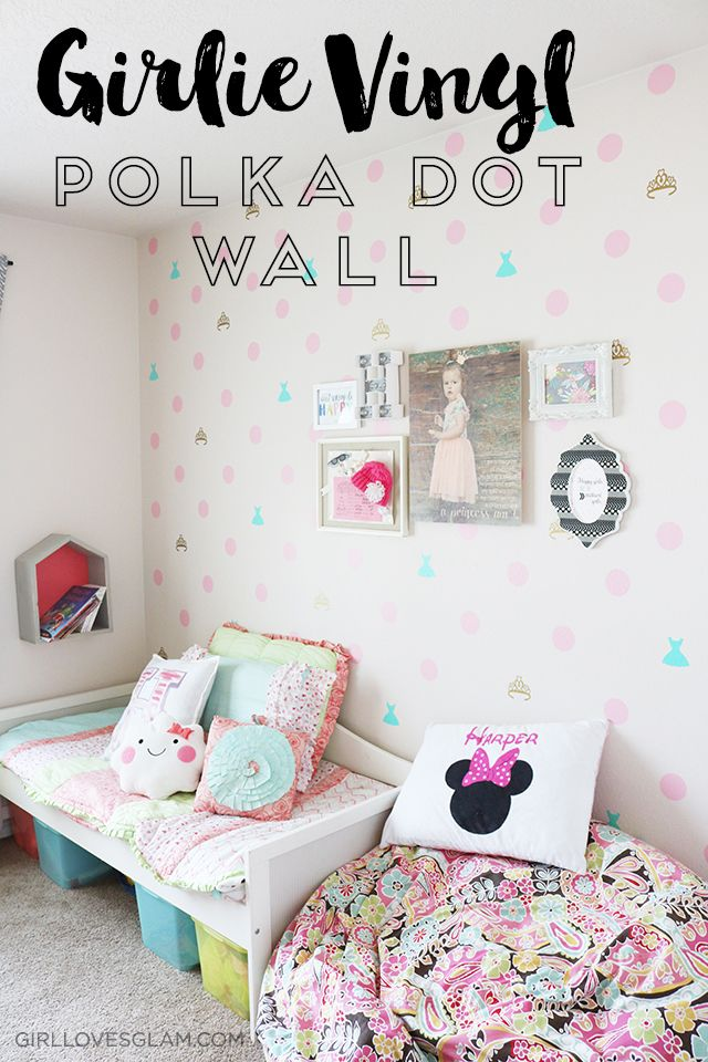 Bright and Happy Little Girl Bedroom Reveal