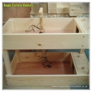 double level tortoise table for sale UK | 2 levels ideal for limited space or different species