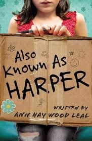 Also Know as Harper (Harper, an aspiring poet, must deal with her family's eviction notice.)