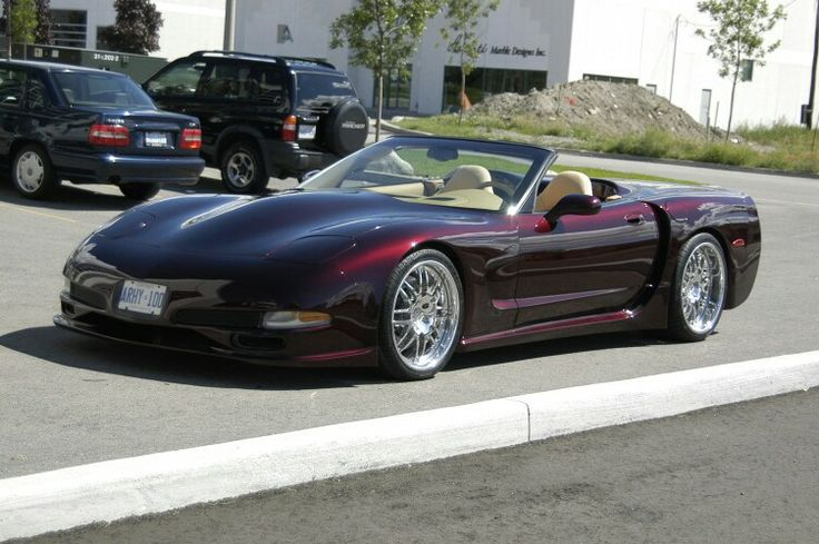 Corvette C5 Convertible Widebody Kit C5 Corvette