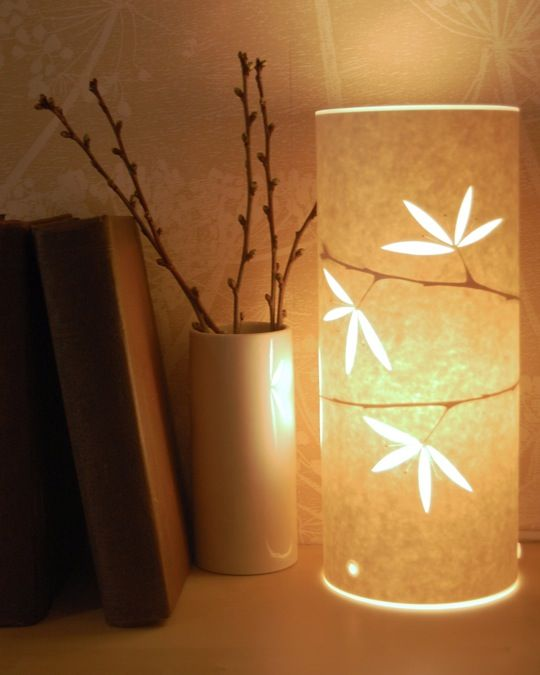 mood lighting ideas. hannah nunn papercut lamps mood lighting ideas