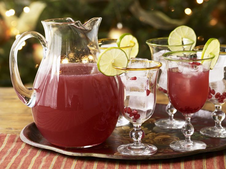 Pomegranate Margarita Drink By Good House Keeping