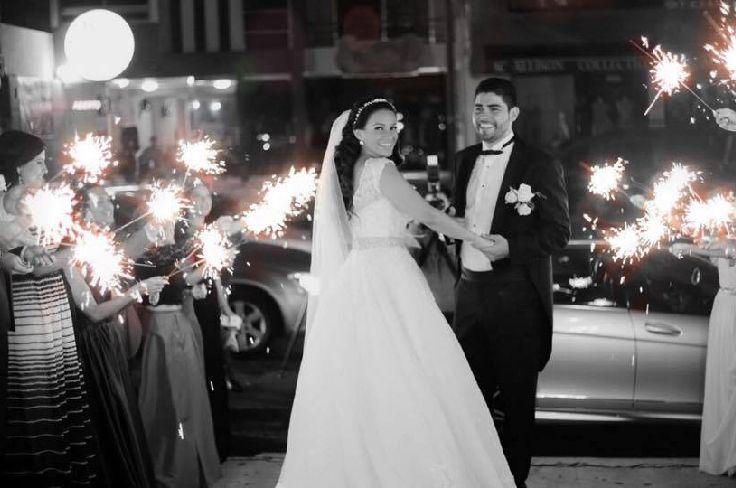 Luces de Bengala Boda. Sparkles wedding