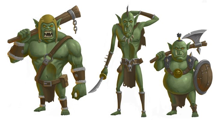 orc casual concept