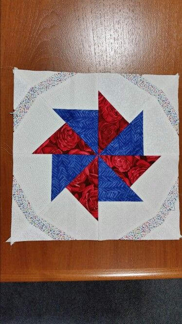 Crazy Anne block  for a friendship  quilt
