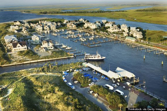 Bald Head Island, NC - beautiful island onto accessible by boat. Would love to go back