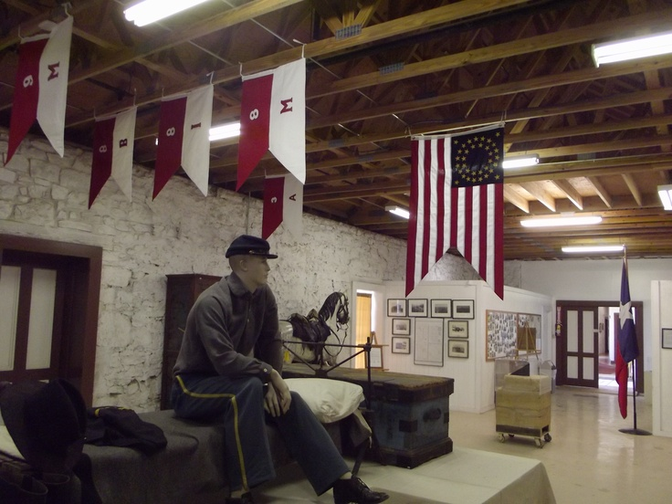 Fort Concho Museum San angelo texas, Two rivers