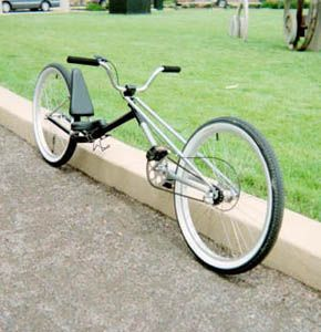 Recumbent chopper