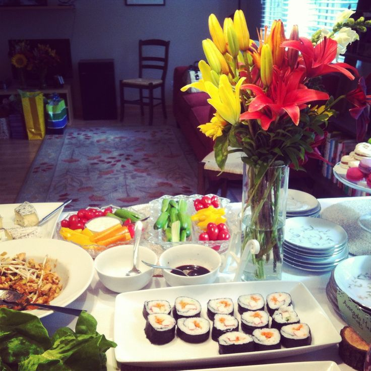 Pinterest Wedding Food: Pinterest Bridal Shower Food Ideas
