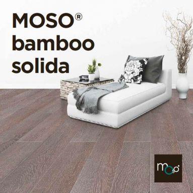 Pisos de Madera Macizos Bamboo Solida