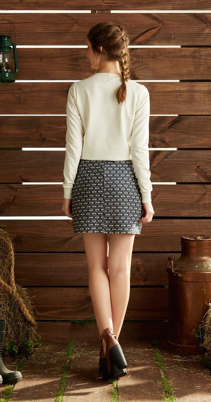 Só na Antix Store você encontra Blusa Moleton Bordado com exclusividade na internet