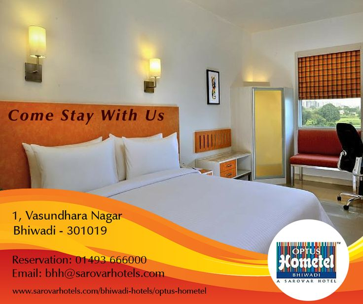 Sleep, Eat & Enjoy for Less at Optus Hometel, Bhiwadi Book room on our website and avail 20% of the best available room rate as Food and Beverage credit. Call us for Reservation: 01493 666 000 #Hotel #Bhiwadi #Accommodation #BookYourStay