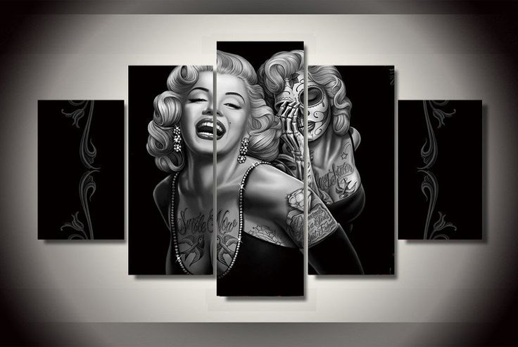 Painting Limited Edition Marilyn Monroe
