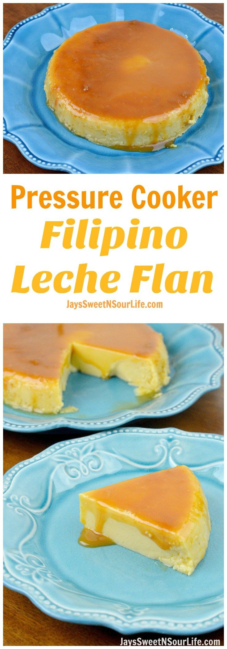 Try my Pressure Cooker Filipino Leche Flan recipe, it is so delicious and so much easier and quicker to make in your pressure cooker.