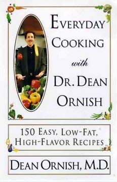 Everyday Cooking With Dr. Dean Ornish--Renowned cardiac researcher and bestselling author Dean Ornish, M.D., has inspired millions of people to choose a healthier lifestyle and a low-fat diet. But low-fat cooking can be time-consuming and hard to fit into a busy schedule, so Dr. O has found 150 wonderful ways to make it fast, delicious and fun. Everyday Cooking with Dean O includes 150 easy and extraordinary recipes that are low in fat and cholesterol -- and high in flavor.
