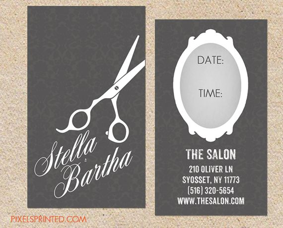 Best 25 Hairstylist business cards ideas on Pinterest  Salon business cards Custom business