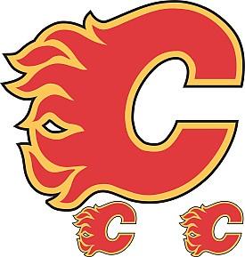 Trademarx Calgary Flames Peel and Stick Wall Logo - Shop.NHL.com