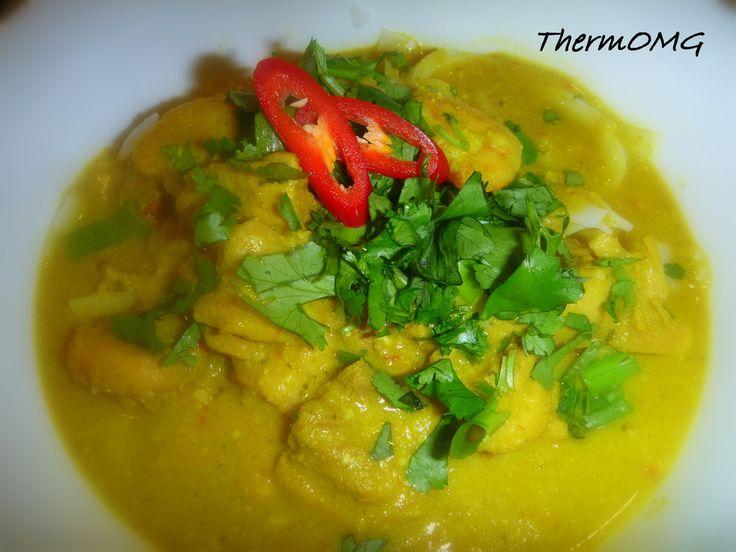 Malaysian Chicken and Prawn Curry (Laksa Paste)