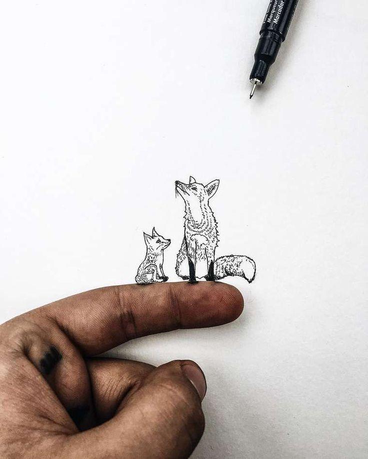 Tiny World – Les illustrations miniatures de Christian Watson