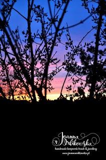 Sunset at Kashubia, Poland by Joanna Orlikowska