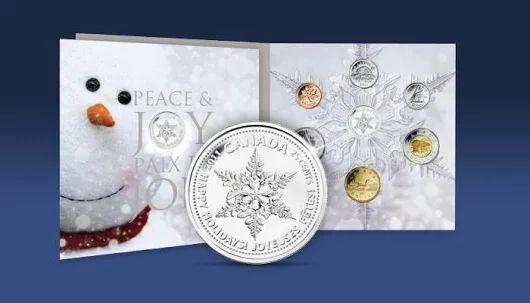 Když nám zasněžený prosinec nedopřeje příroda, snad Vás  trochu potěšíme my :) #winter #snow #silvercoin #snowflake #coincollecting #numismatics #narodnipokladnice