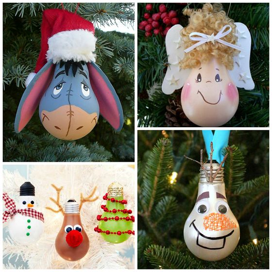 christmas bulb decorations - Christmas Bulb Decorations