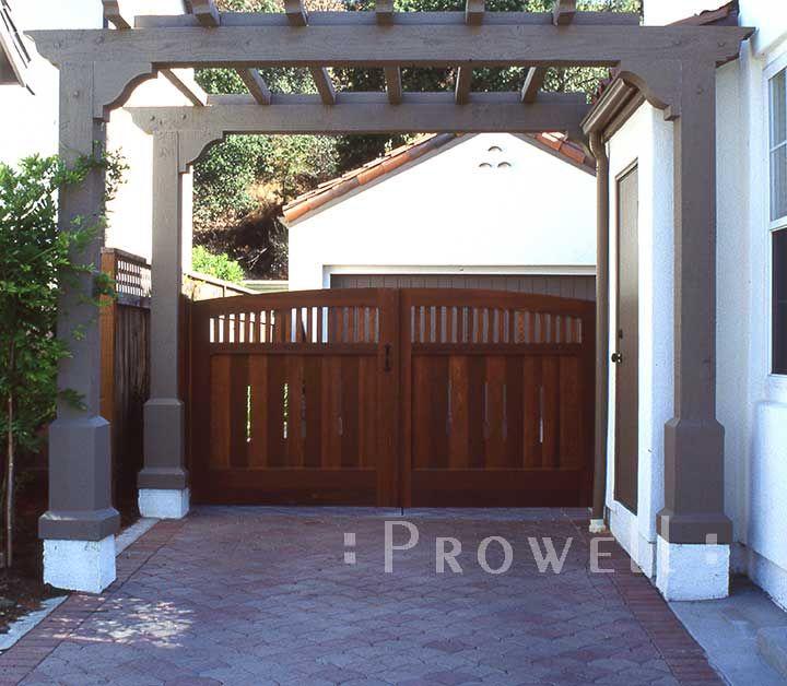 Custom Wood Gates: 8 Best DRIVEWAY GATES Images On Pinterest