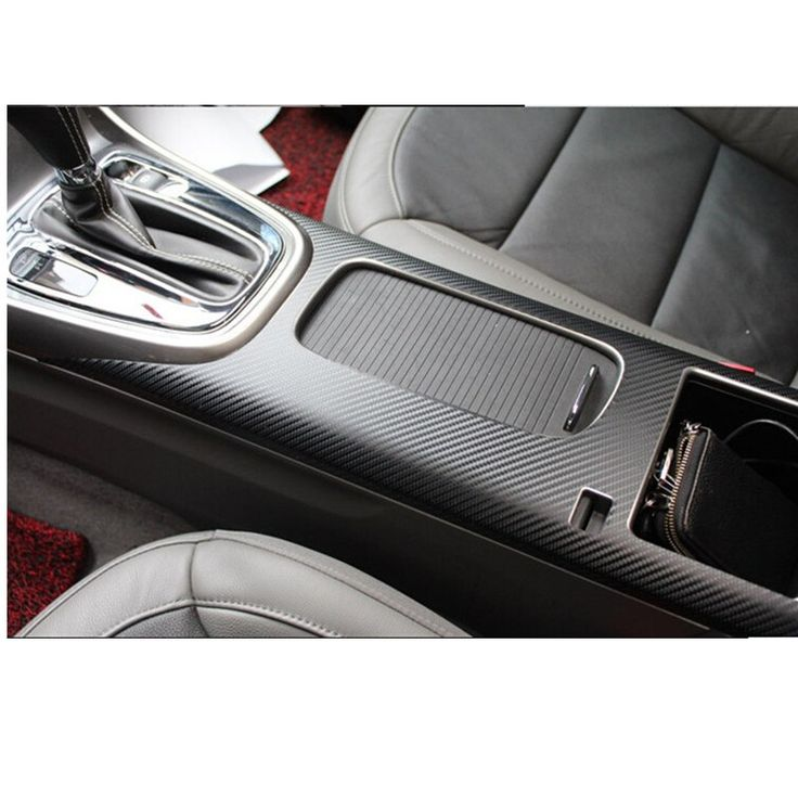 Car styling Car Central Armrest Box Sticker For Chevrolet Malibu 2013 2014 Accessories 1pc Carbon Fiber