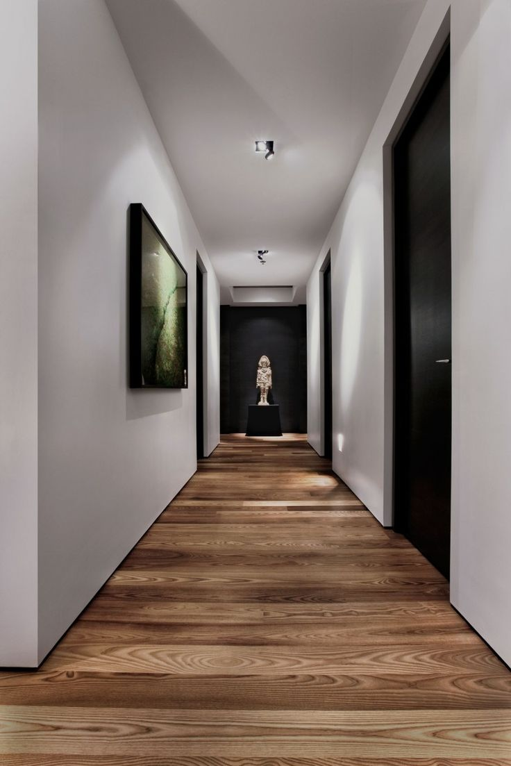Amazing Interior Design with Excellent Glossy Black Doors Paint and Natural W - http://homeides.com/amazing-interior-design-with-excellent-glossy-black-doors-paint-and-natural-w/